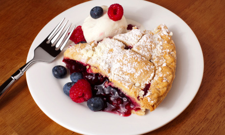 torta ripena di frutta
